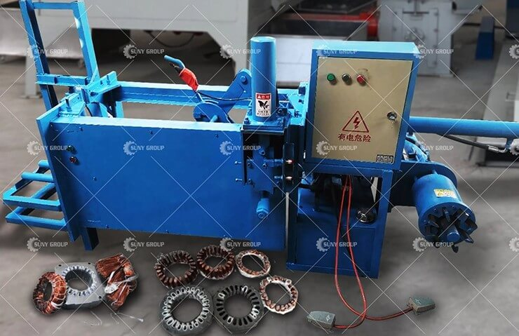 Stator Copper Extractor Machine Video